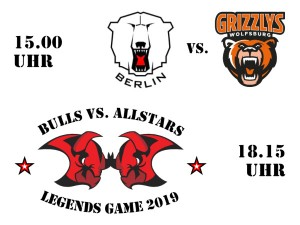 Eisbären vs. Grizzlys plus Allstars Game