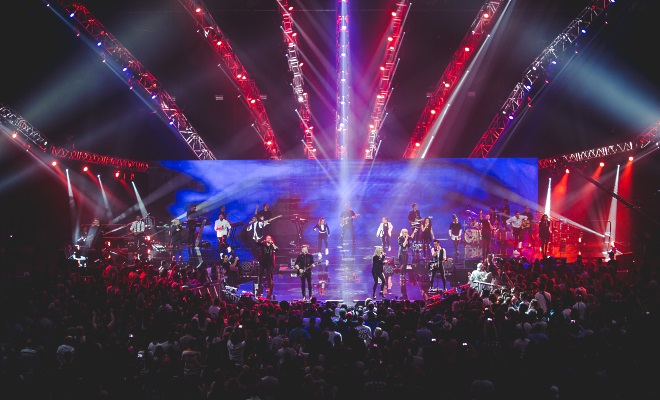 Planetshakers on Stage